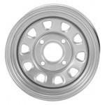 I.T.P. Delta Steel Silver Wheels 12X7 5+2 4/110