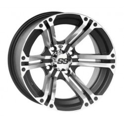 SS Alloy SS212 14X8 4/110 3+5 Machined