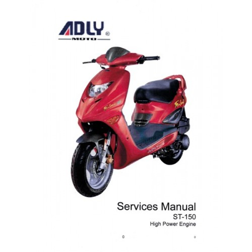 Fox carbide 150cc service manual