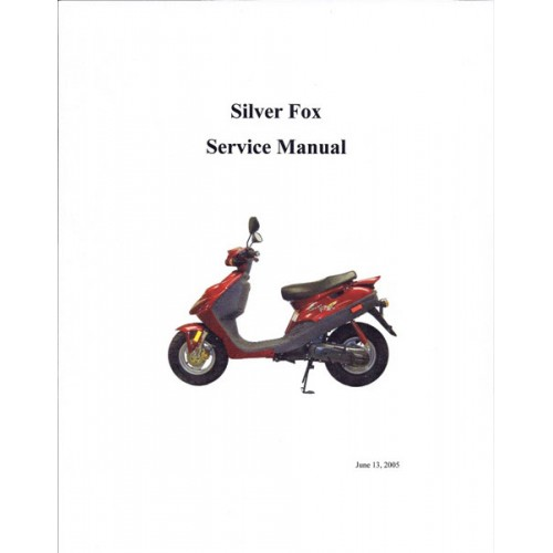 Silver Fox Service Manual | $21.97 | Adly Thunderbike Scooter Wiring Diagram |  | Kasea Parts Store