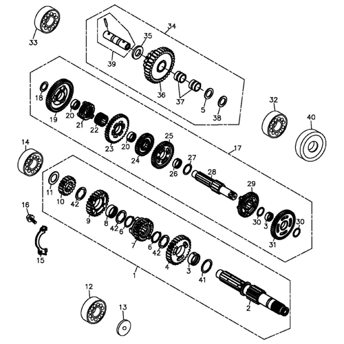 gy6 transmission diagram 125cc pit bike engine diagram