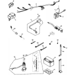 Battery and Wire Harness