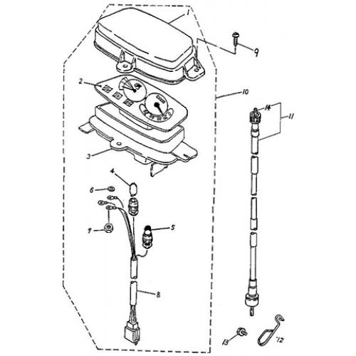 Speedometer (Adly Jet 50)