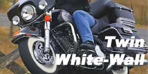 Vee Rubber VRM-302 Twin White-wall Tires