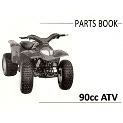 Adly (Blazer) 90cc Parts Manual