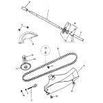 Rear Wheel Axle | Chain
