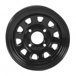 I.T.P. Delta Steel Black Wheels
