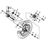 "Front Wheel (12"" SPCC RIM)"